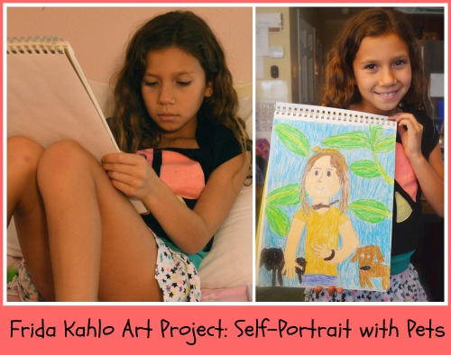 Kids Learn about Frida Kahlo, Mexican Artist Extraordinaire
